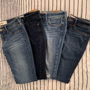Hollister Jean Bundle Size 1💕